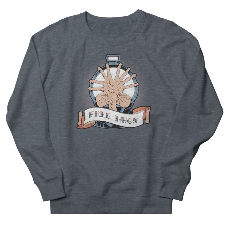 Free Hugs Men's French Terry Sweatshirt by The Art of Warlick