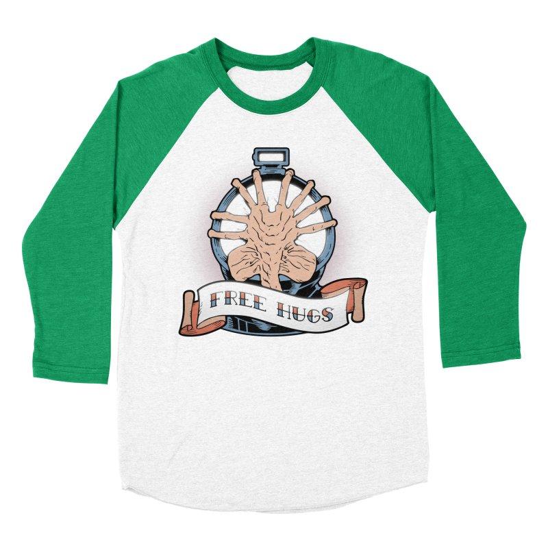 Free Hugs Men's Baseball Triblend T-Shirt by The Art of Warlick