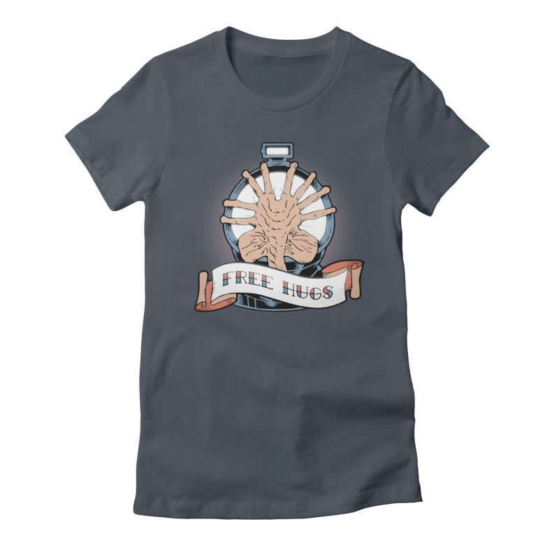 Free Hugs Women's Fitted T-Shirt by The Art of Warlick