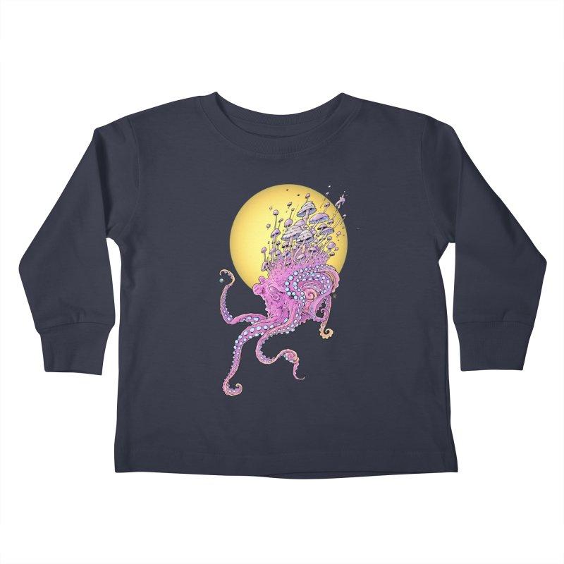 Cephalospore Kids Toddler Longsleeve T-Shirt by The Art of Warlick