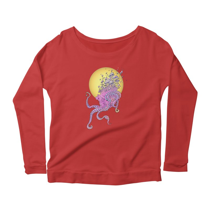 Cephalospore Women's Scoop Neck Longsleeve T-Shirt by The Art of Warlick