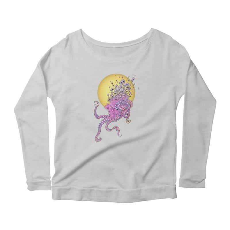 Cephalospore Women's Scoop Neck Longsleeve T-Shirt by The Art of Warlick