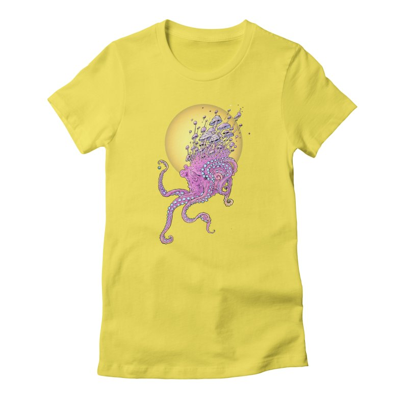 Cephalospore Women's Fitted T-Shirt by The Art of Warlick