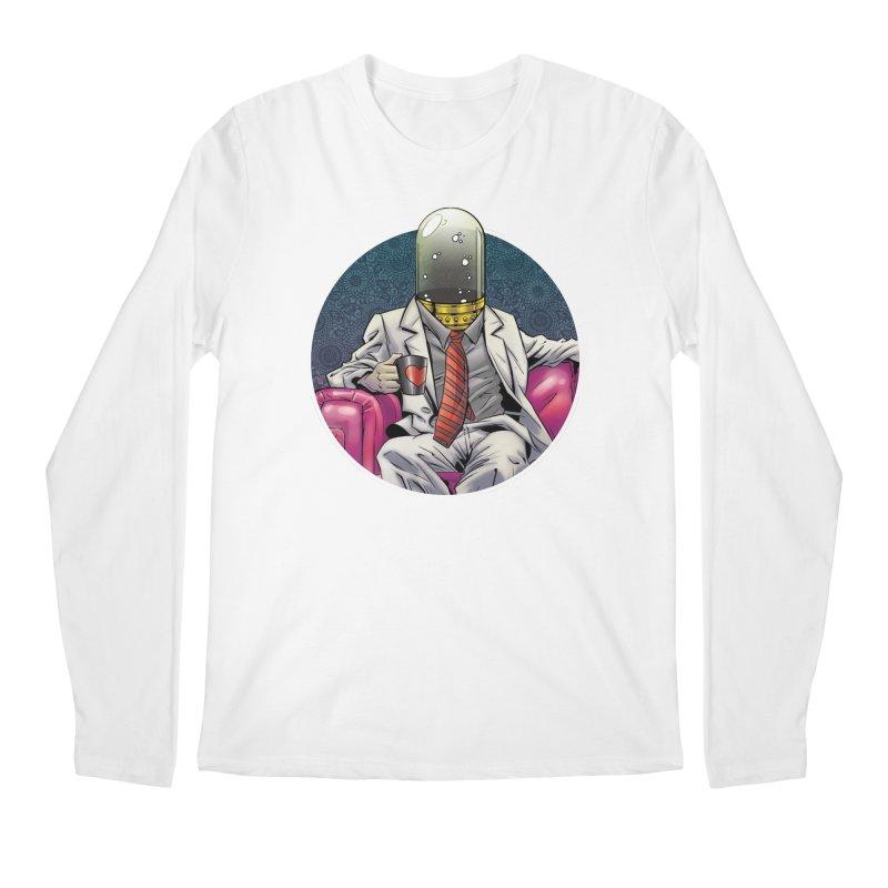 Material Vessel Men's Regular Longsleeve T-Shirt by The Art of Warlick