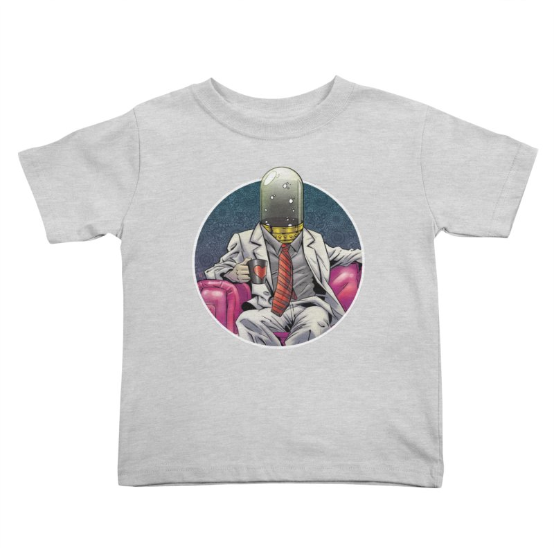 Material Vessel Kids Toddler T-Shirt by The Art of Warlick