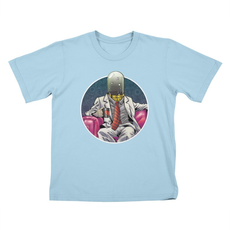Material Vessel Kids T-Shirt by The Art of Warlick