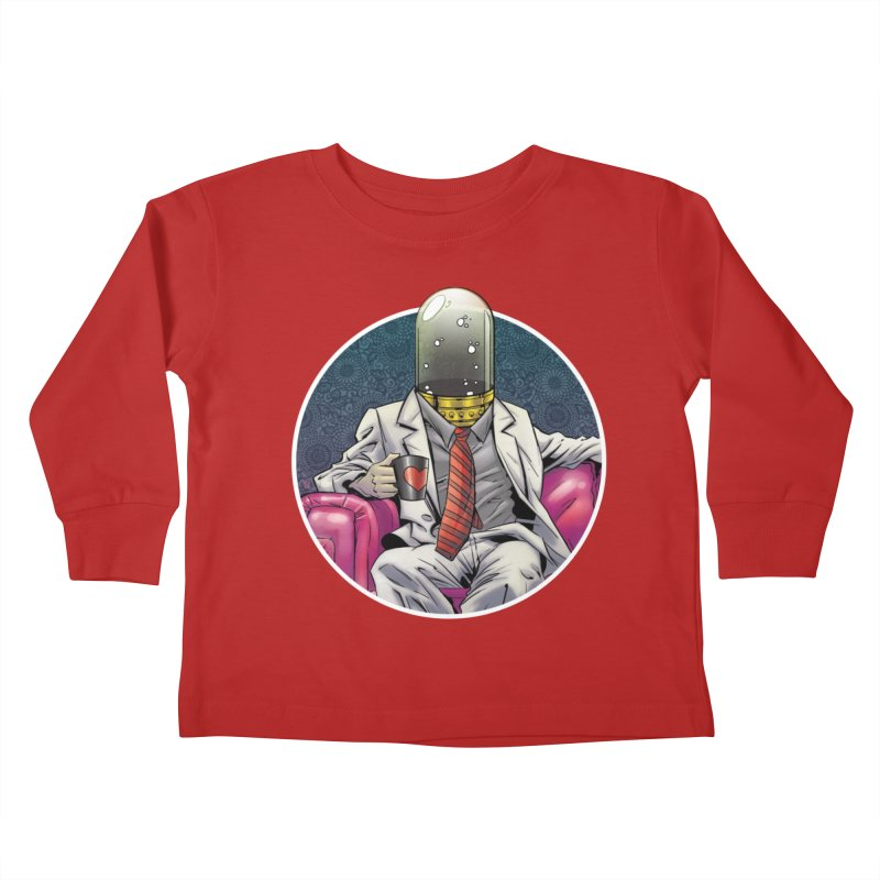 Material Vessel Kids Toddler Longsleeve T-Shirt by The Art of Warlick