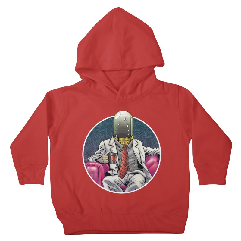 Material Vessel Kids Toddler Pullover Hoody by The Art of Warlick