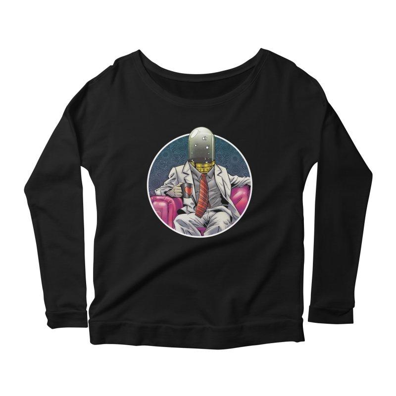 Material Vessel Women's Scoop Neck Longsleeve T-Shirt by The Art of Warlick