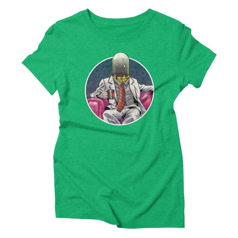 Material Vessel Women's Triblend T-shirt by The Art of Warlick