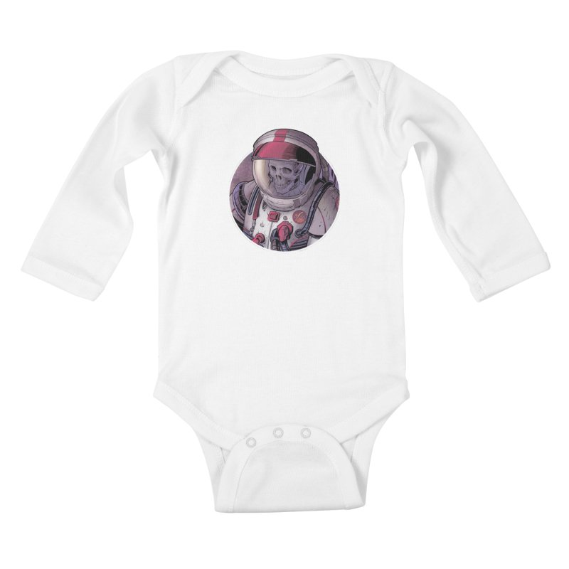 Stranded Kids Baby Longsleeve Bodysuit by The Art of Warlick