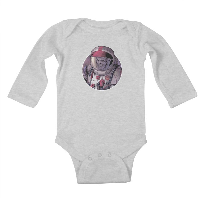 Stranded Kids Baby Longsleeve Bodysuit by The Art of Warlick