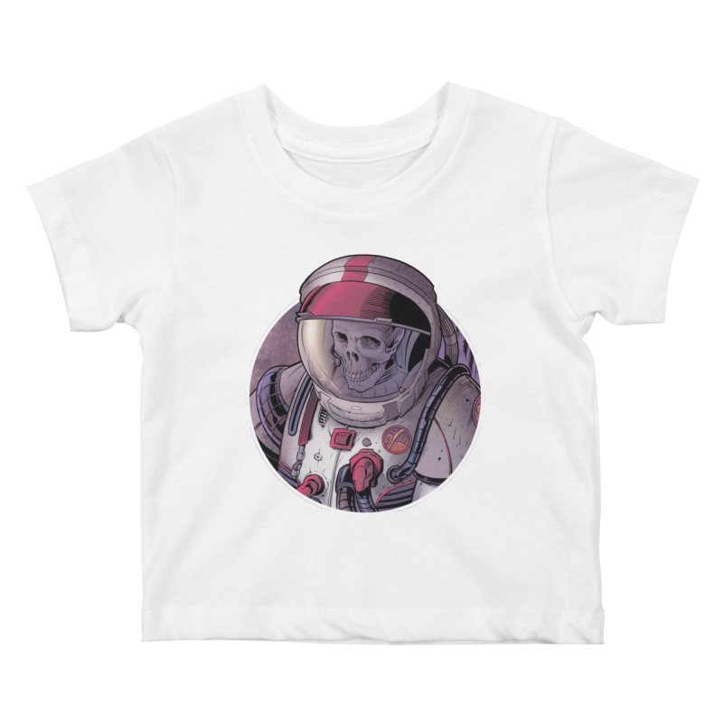 Stranded Kids Baby T-Shirt by The Art of Warlick