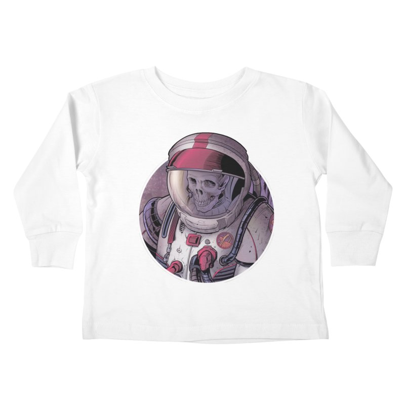 Stranded Kids Toddler Longsleeve T-Shirt by The Art of Warlick