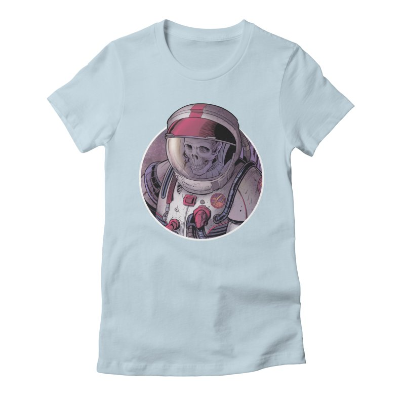 Stranded Women's Fitted T-Shirt by The Art of Warlick