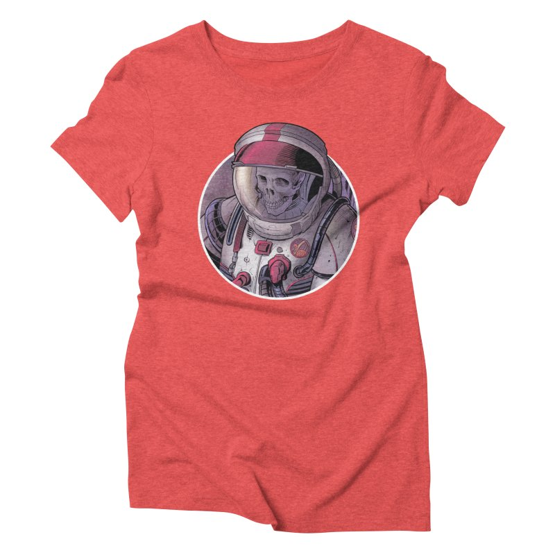 Stranded Women's Triblend T-Shirt by The Art of Warlick