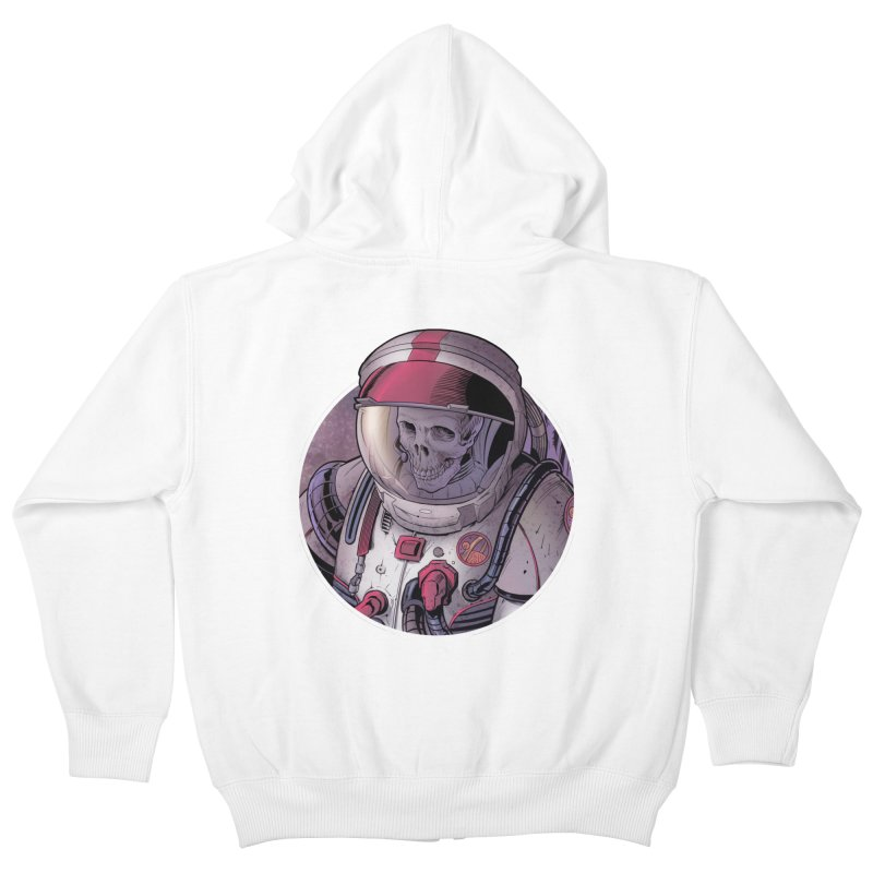 Stranded Kids Zip-Up Hoody by The Art of Warlick