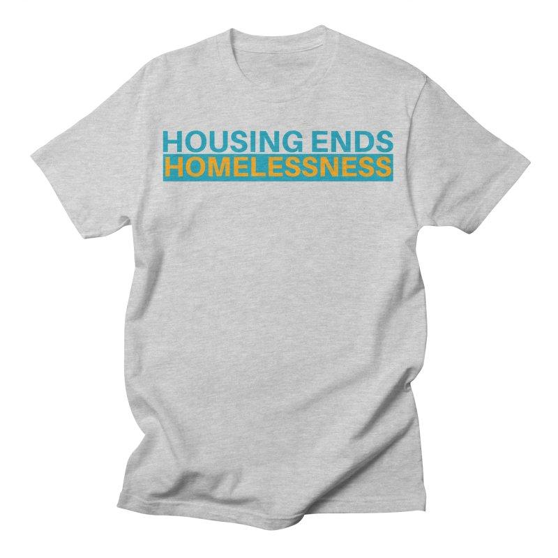 HOUSING ENDS IT Men's T-Shirt by warmwaynesboro's Artist Shop