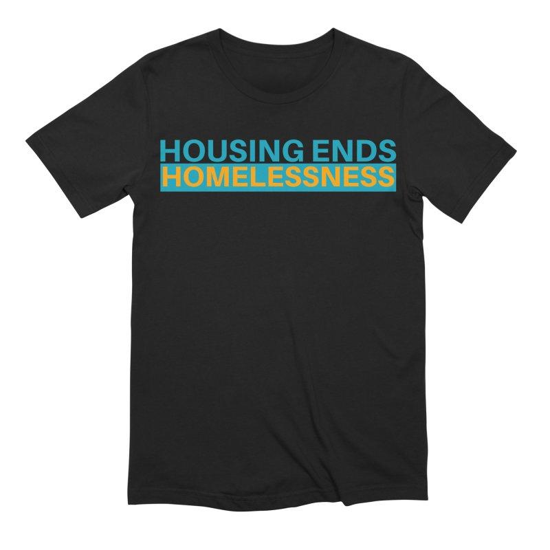 HOUSING ENDS IT Men's Extra Soft T-Shirt by warmwaynesboro's Artist Shop
