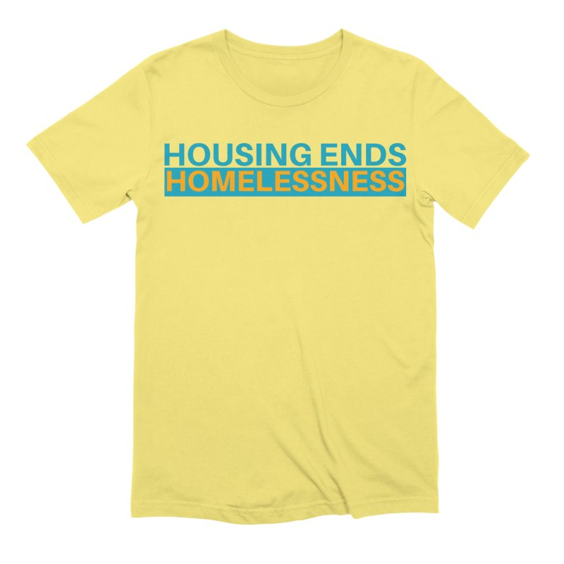 HOUSING ENDS IT Men's Extra Soft T-Shirt by warmwaynesboro's Artist Shop