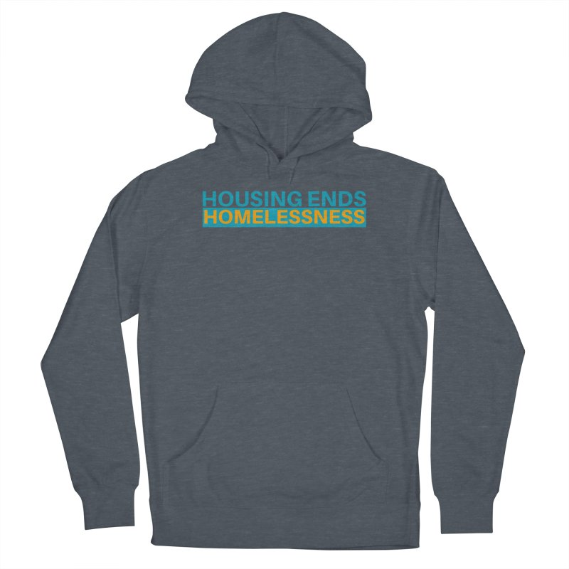 HOUSING ENDS IT Men's Pullover Hoody by warmwaynesboro's Artist Shop