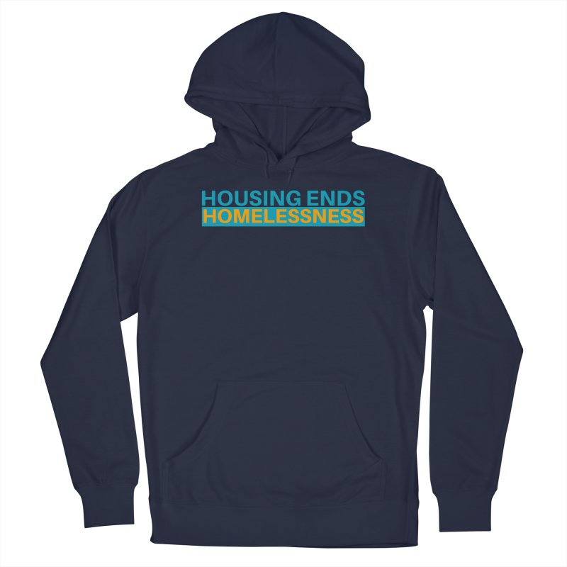 HOUSING ENDS IT Men's French Terry Pullover Hoody by warmwaynesboro's Artist Shop