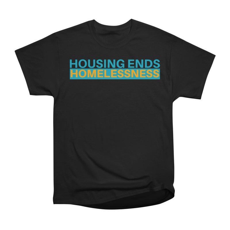 HOUSING ENDS IT Men's Heavyweight T-Shirt by warmwaynesboro's Artist Shop
