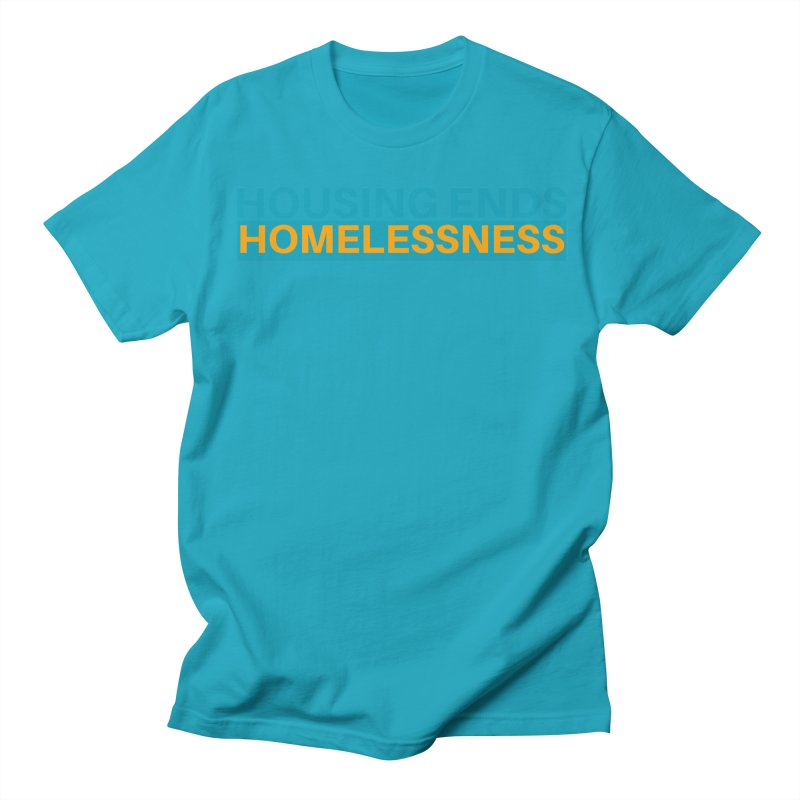 HOUSING ENDS IT Women's Regular Unisex T-Shirt by warmwaynesboro's Artist Shop
