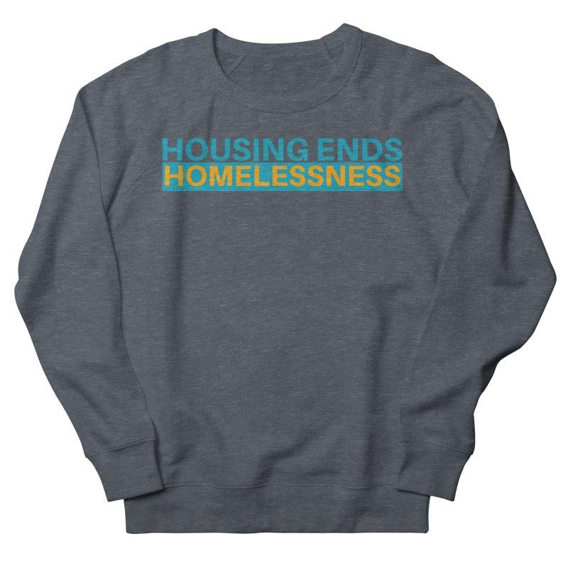 HOUSING ENDS IT Men's French Terry Sweatshirt by warmwaynesboro's Artist Shop