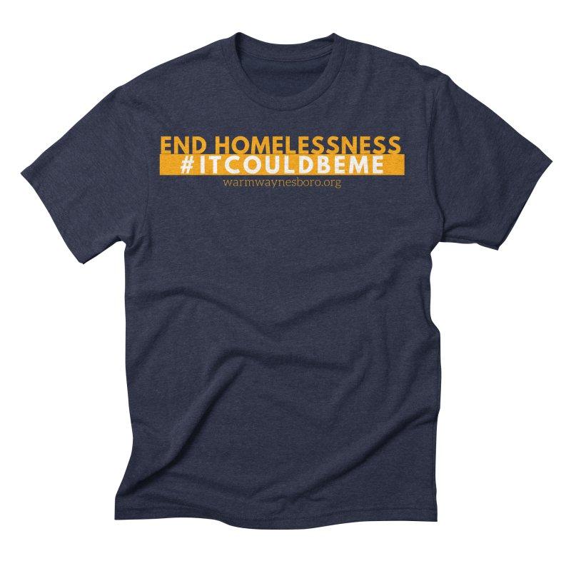 IT COULD BE ME Men's Triblend T-Shirt by warmwaynesboro's Artist Shop