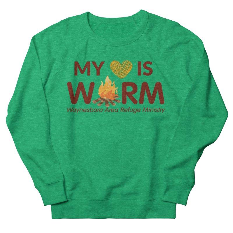 My heart is WARM Men's Sweatshirt by warmwaynesboro's Artist Shop