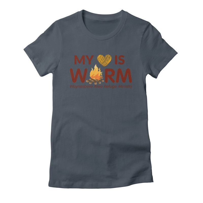 My heart is WARM Women's T-Shirt by warmwaynesboro's Artist Shop