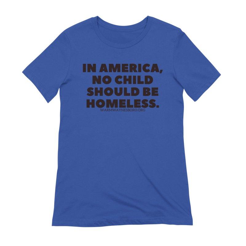 IN AMERICA Women's Extra Soft T-Shirt by warmwaynesboro's Artist Shop
