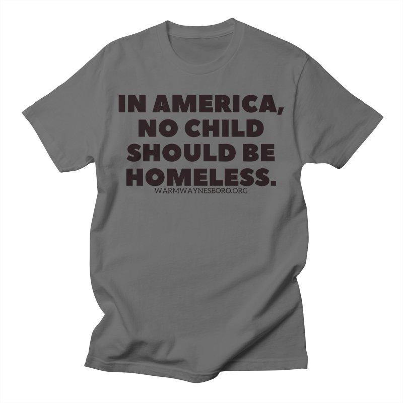 IN AMERICA Men's T-Shirt by warmwaynesboro's Artist Shop