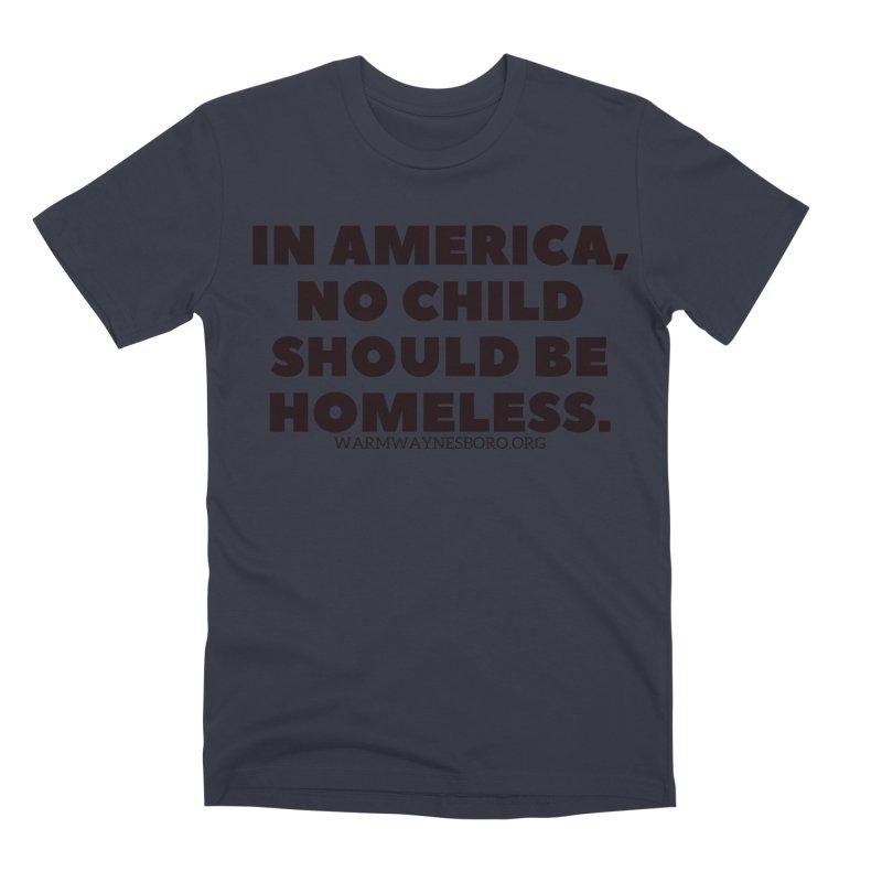 IN AMERICA Men's Premium T-Shirt by warmwaynesboro's Artist Shop