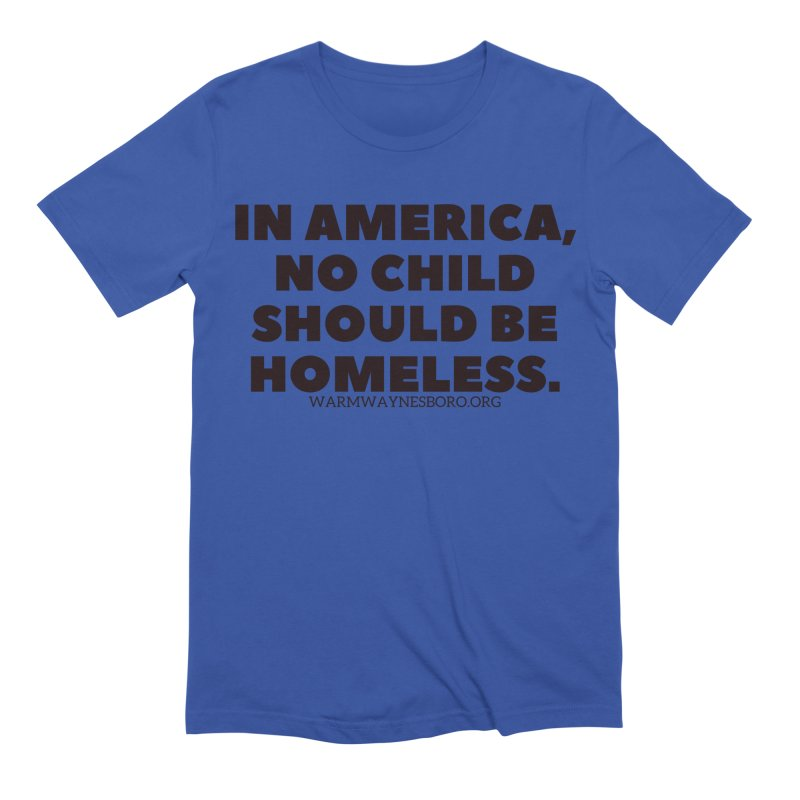 IN AMERICA Men's Extra Soft T-Shirt by warmwaynesboro's Artist Shop