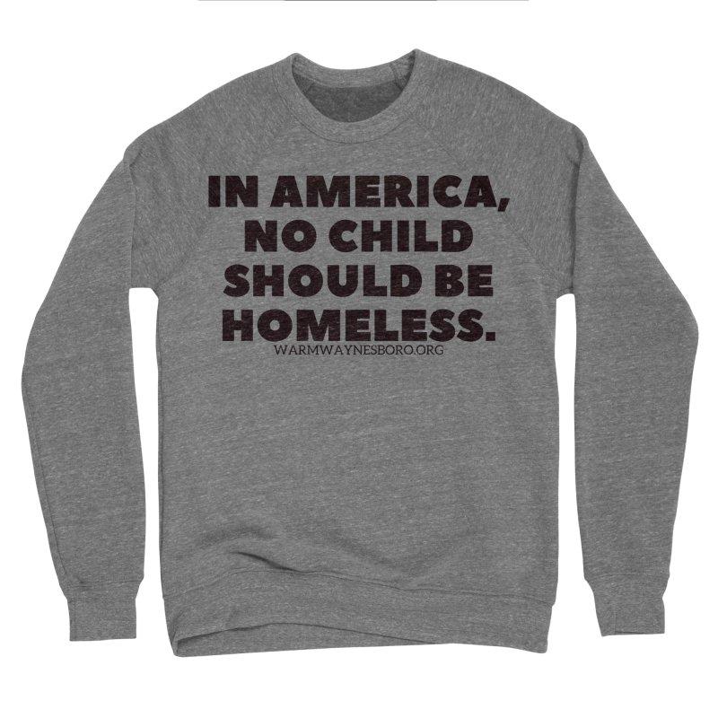 IN AMERICA Women's Sponge Fleece Sweatshirt by warmwaynesboro's Artist Shop