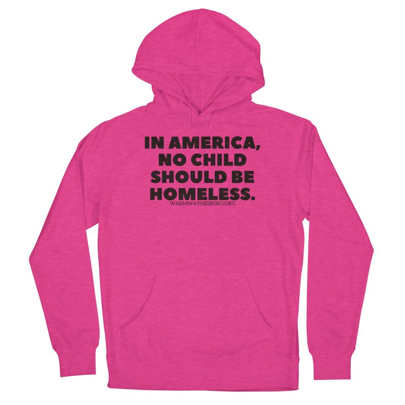 IN AMERICA Women's French Terry Pullover Hoody by warmwaynesboro's Artist Shop