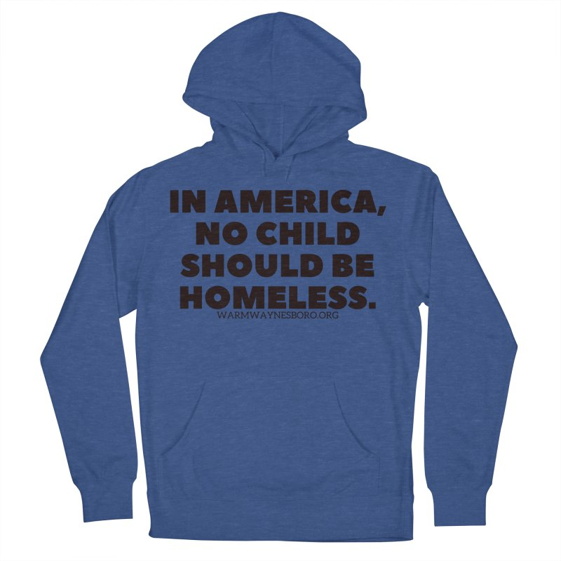 IN AMERICA Men's French Terry Pullover Hoody by warmwaynesboro's Artist Shop