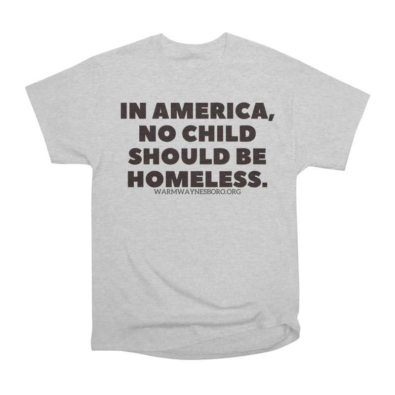 IN AMERICA Men's Heavyweight T-Shirt by warmwaynesboro's Artist Shop