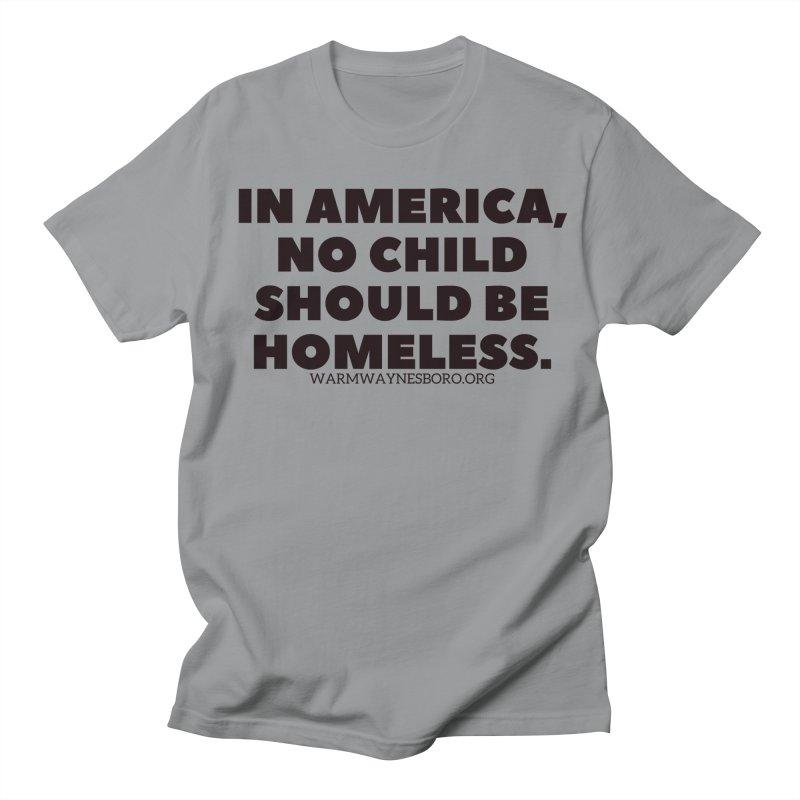 IN AMERICA Men's Regular T-Shirt by warmwaynesboro's Artist Shop