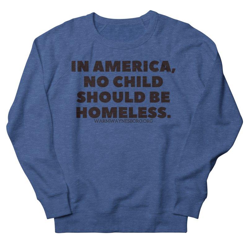IN AMERICA Men's Sweatshirt by warmwaynesboro's Artist Shop