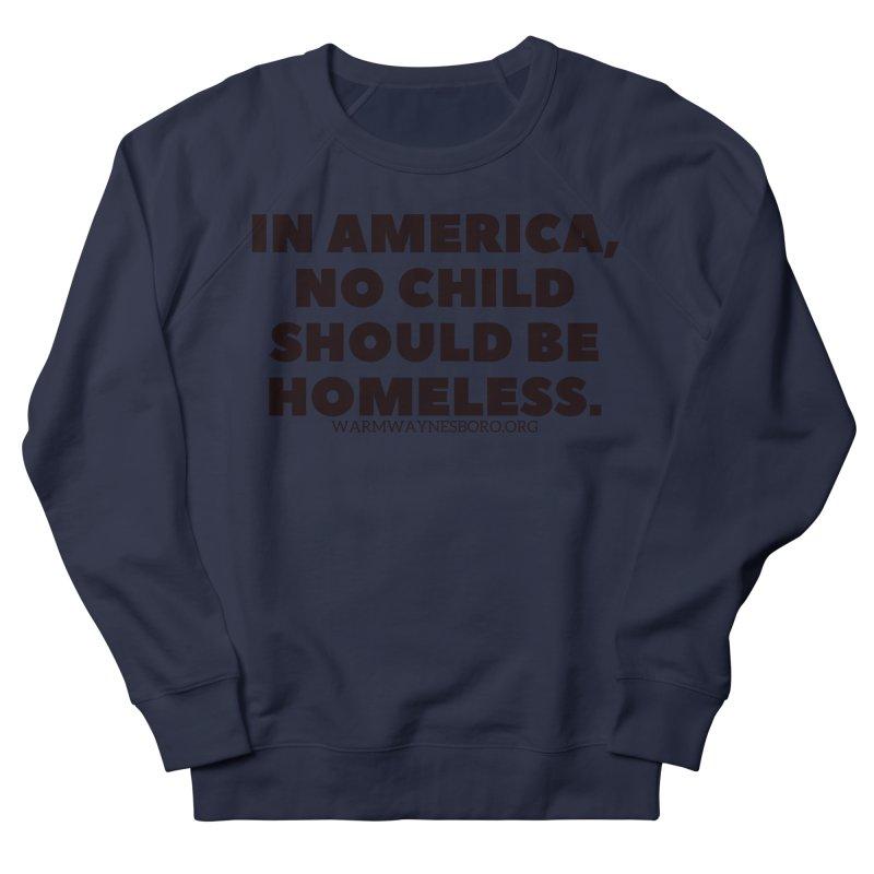IN AMERICA Men's French Terry Sweatshirt by warmwaynesboro's Artist Shop