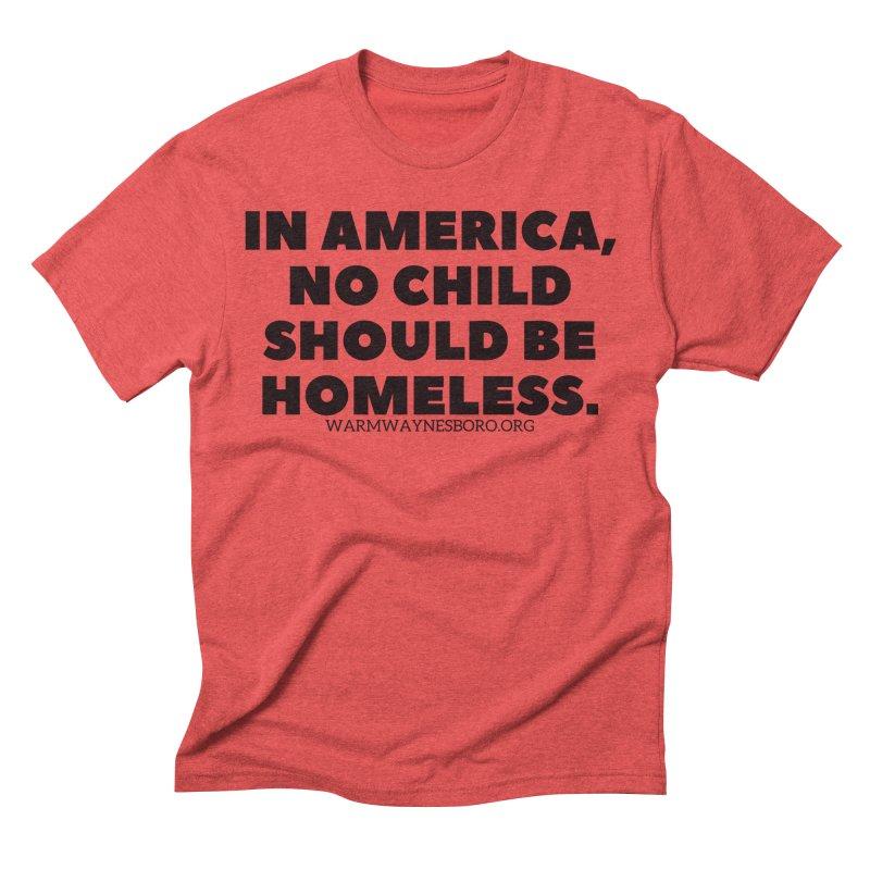 IN AMERICA Men's Triblend T-Shirt by warmwaynesboro's Artist Shop