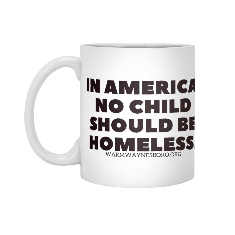 IN AMERICA Accessories Standard Mug by warmwaynesboro's Artist Shop