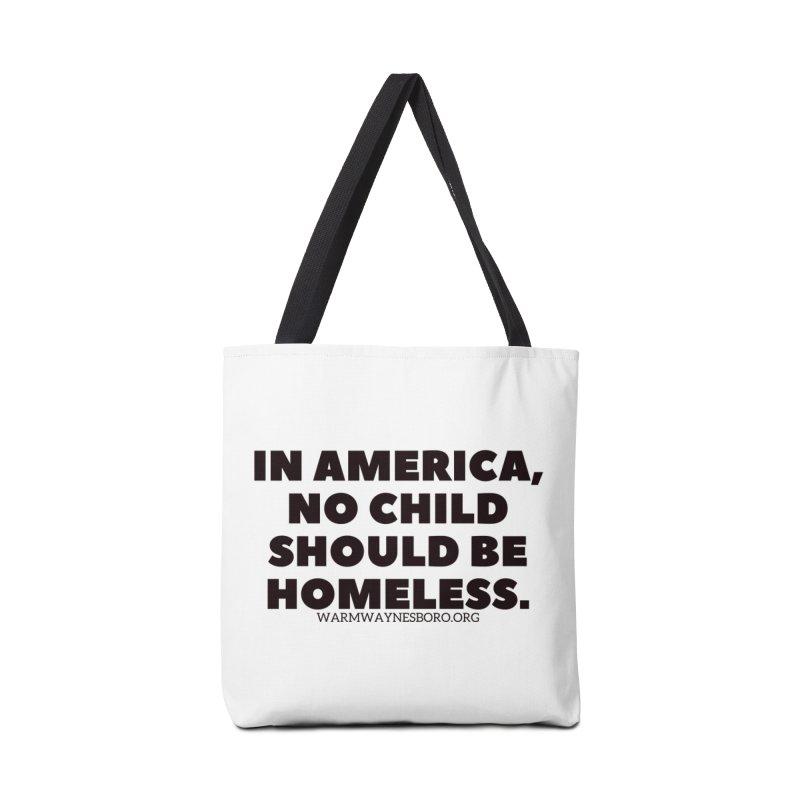 IN AMERICA Accessories Tote Bag Bag by warmwaynesboro's Artist Shop