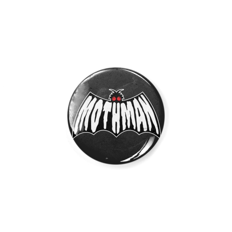 Mothman Accessories Button by Wasabi Snake