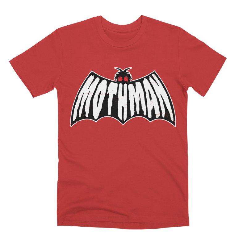 Mothman Men's Premium T-Shirt by Wasabi Snake
