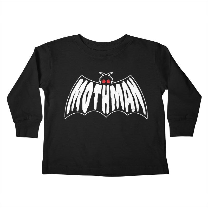 Mothman Kids Toddler Longsleeve T-Shirt by Wasabi Snake