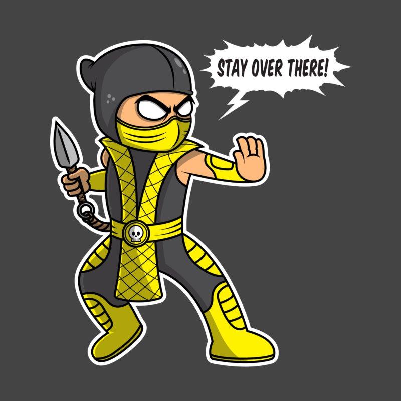 Social Distancing Ninja Men's T-Shirt by Wasabi Snake